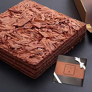 チョコレートケーキ ボヌール・カレ 冷蔵便[冷] 30年変わらぬおいしさ ケーキ お礼 ギフト チョコレート お菓子【お届け日時指定対応可能】