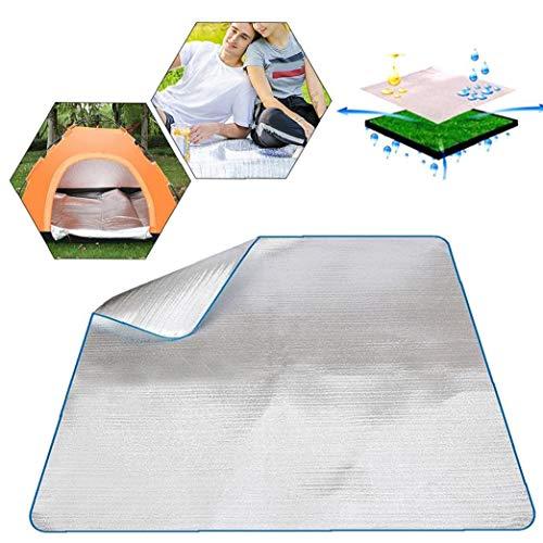 Nicetruc Wasserdichtes Aluminiumfolie Eva Isomatte Matte Aluminium-Decke Für Outdoor Camping Wandern Reisen Picknick