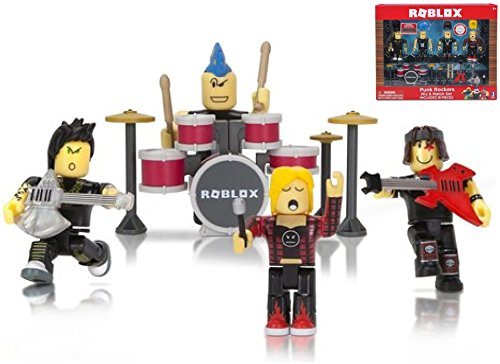 ROBLOX - PUNK ROCKERS MIX & MATCH SET - Includes 18 Pieces, Redeem Exclusive Virtual Item With Code!, Mix & Match Set