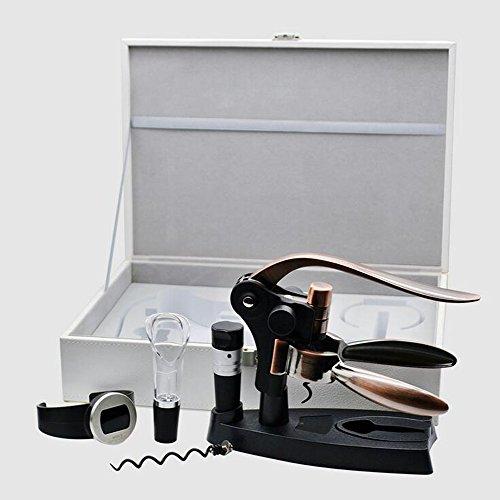 6Pcs/Lot Haut De Gamme Créative Multifonction Type De Lapin en Forme De Tire-Bouchon Vin Coffret Décapsuleur