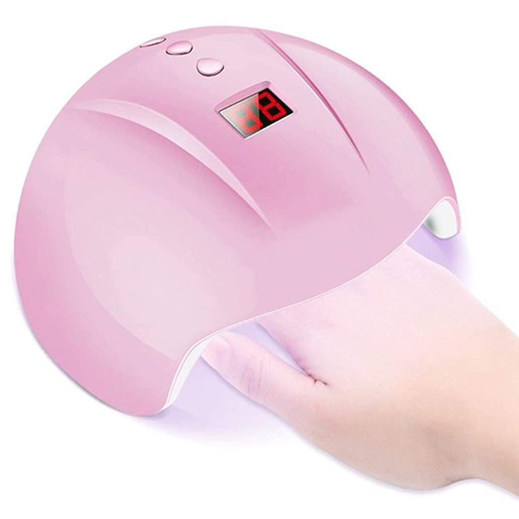 アノイ投げるアニメーション36W UV LED ランプネイルドライヤー 12 LED は、30代/60/90 年代 USB タイマーの美しさ (ピンク) を硬化ネイルマシンのすべての種類に適しています