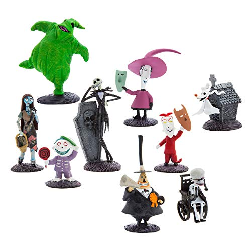 Disney Tim Burton's The Nightmare Before Christmas Deluxe Figure Play Set
