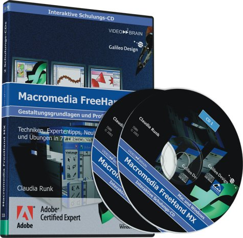Macromedia FreeHand MX - Schulungs-CD (PC+MAC)