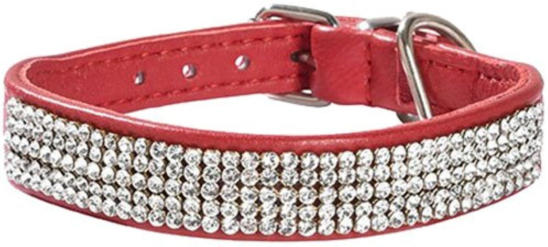 Bobby Crystal Princesse Collar, Size 25, Rubin