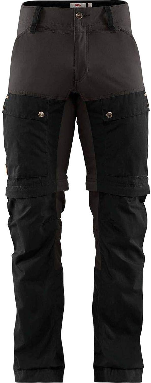 FjllRven Keb Gaiter Trousers M - Hochfunktionelle Trekking-Hose mit praktischer Gamaschenfunktion. Aus Stretchmaterial, G-1000 Eco und G-1000 HeavyDuty hergestelltes Modell mit optimierter Passform und Belüftung sowie durchdachten Taschen.