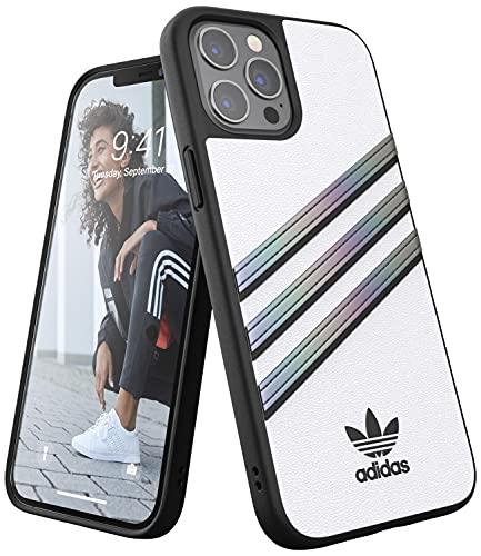 adidas Funda diseñada para iPhone 12 Pro MAX de 6,7 Pulgadas, Fundas a Prueba...