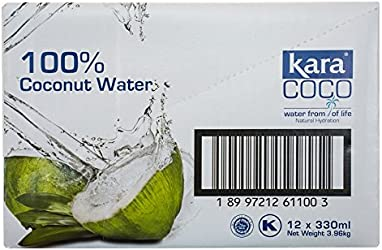 Kara 100% Coconut Water, 12 x 330ml
