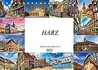Harz der Sueden und Westen (Tischkalender 2022 DIN A5 quer): Zwoelf wunderschoene Bilder aus dem Sueden und Westen des Harzes (Monatskalender, 14 Seiten )