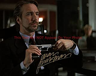 Alan Rickman Die Hard Autographed 8x10 Glossy Photo