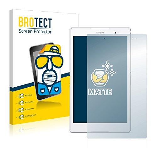 BROTECT 2X Entspiegelungs-Schutzfolie kompatibel mit Sony Xperia Z3 Tablet Compact SGP621 Displayschutz-Folie Matt, Anti-Reflex, Anti-Fingerprint