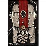 tgbhujk Twin Peaks Us Fernsehserie Zeigen Vintage Wandkunst