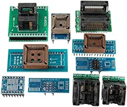 Electronic Module USB Mini Pro Programmer With 10pcs Adapter EEPROM FLASH 8051 AVR MCU SPI ICSP TL866II