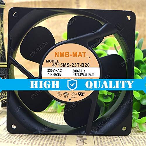 CYRMZAY Compatible para NMB 4715MS-23T-B20 230V 15 / 14W 12CM 12038 Cabinet Power Ventilador