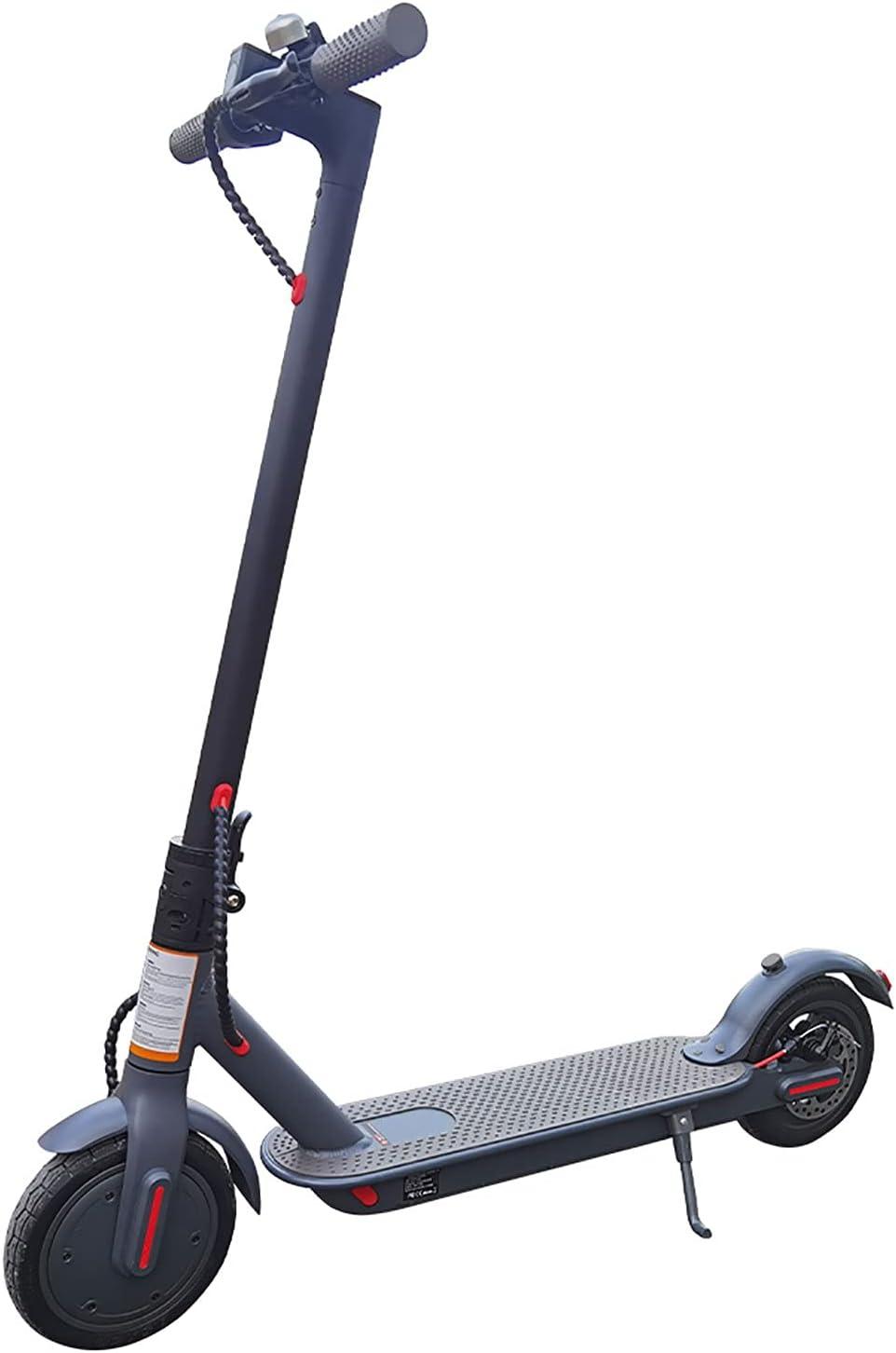 LBXZ Scooter eléctrico / 350 W / Plegado E Scooter adulto / 16 kph velocidad máxima/fácil de transportar, regalo para niños y adultos (color negro)