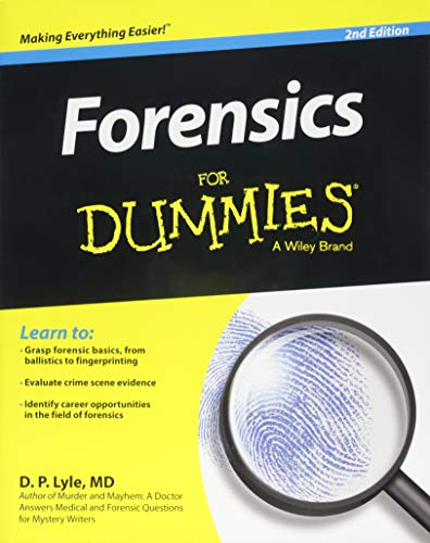 Forensics FD, 2E (For Dummies)