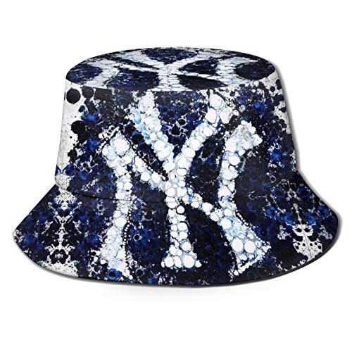 G-III Sports New York Yankees Cotton Bucket Hats Unisex Wide Brim Outdoor Summer Cap Hiking Beach Sports