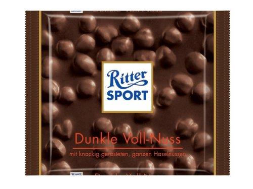 Ritter Sport Dunkle Voll-Nuss - Schokolade 5x100g