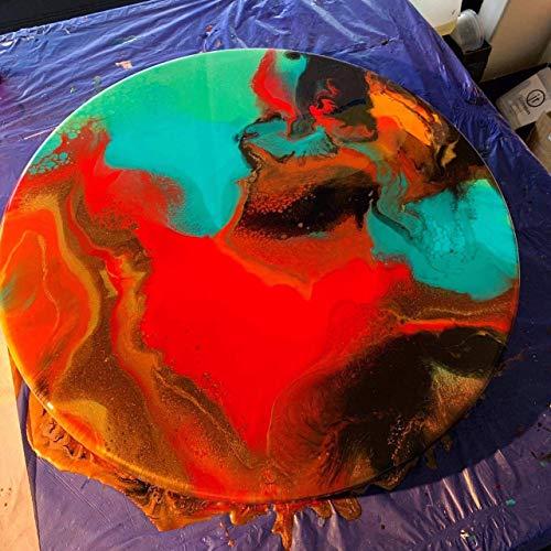Mahadev Chemifs Art Crystal Clear Epoxy Art Resin Kit (300 GM)
