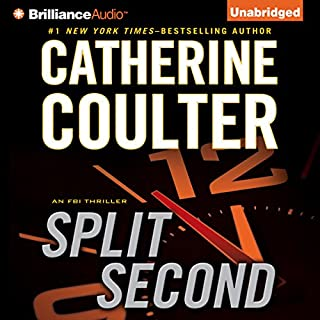 Split Second: An FBI Thriller audiobook cover art