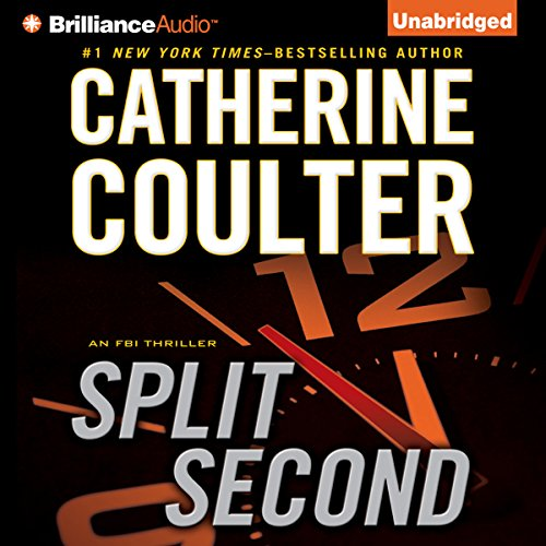 Split Second: An FBI Thriller, Book 15 audiobook cover art