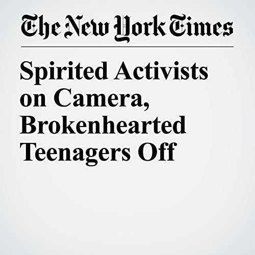 Spirited Activists on Camera, Brokenhearted Teenagers Off copertina
