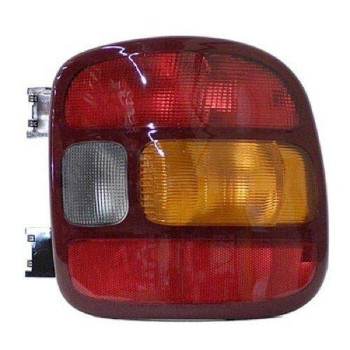 Go-Parts - for 1999 - 2005 GMC Sierra Rear Tail Light Lamp Assembly (Stepside) - Right (Passenger) 19169013 GM2801136 Replacement 2000 2001 2002 2003 2004