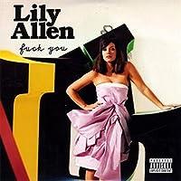 リリーアレンファックユーシングル 音楽アルバムポスターキャンバス絵画アートポスタープリント家の壁のリビングルームの装飾-50x75インチフレームなし