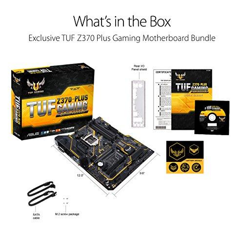 Build My PC, PC Builder, ASUS TUF Z370 Plus Gaming