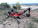 Towable Backhoe (Sit-On Trencher) with 9 HP Engine By CENTRAL MACHINERY
