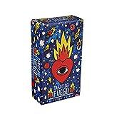DALIN 78pcs Tarocchi Del Fuego Carte Spagnolo Gioco da Tavolo Oracle Deck Guida Elettronica Libro