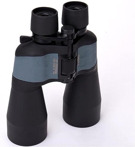 TTYY 10-30X60 HD Jumelles Zoom Extérieur étanche portable pour observer les oiseaux Chasse de la faune Camping Sport événeHommests