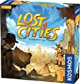 Lost Cities Card Game - with 6th Expedition | Two-Sided Board for Classic or New Edition | by Reiner Knizia | A Kosmos Game from Thames & Kosmos