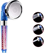 OrchidBest 3 Spray Settings Ionic Filter Shower Head 200% High Pressure 30% Water Saving Body Sprayer Energy Ball Showerhead, SPA Shower Experience