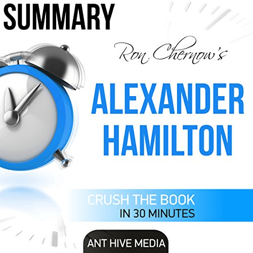 Summary: Ron Chernow's Alexander Hamilton audiobook cover art