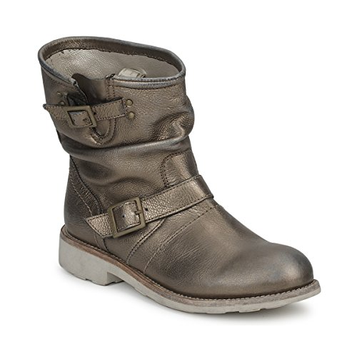 BIKKEMBERGS Vintage 502 Stiefelletten/Boots Damen Grau - 36 - Boots