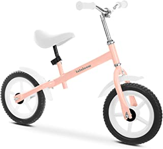 Lalaloom BERRY BIKE - Bicicleta sin pedales aluminio rosa an