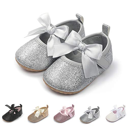 Infant Silver Shoes