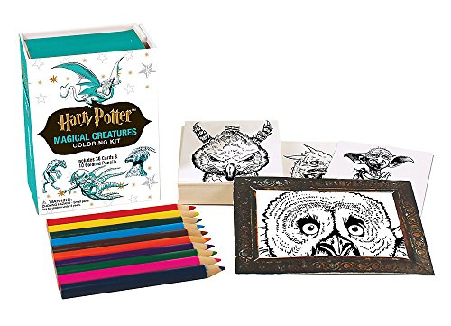Harry Potter Magical Creatures Coloring Kit (Running Press Kits)