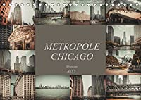 Metropole Chicago (Tischkalender 2022 DIN A5 quer): Der Fotograf Dirk Meutzner nimmt Sie mit auf eine Reise durch die Metropole Chicago (Monatskalender, 14 Seiten )