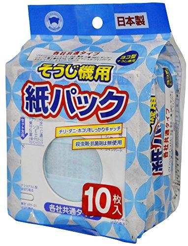 ボンスター 日本製 掃除機 紙パック 各社 共通 タイプ 10枚入 D-078
