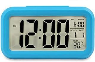 Keetech LED Alarm Clock Creative Large Digital Display Snooze Function with Temperature and Electronic Calendar Luminous (...