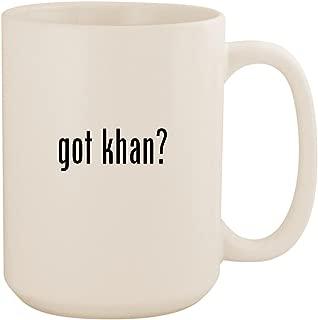 got khan? - White 15oz Ceramic Coffee Mug Cup