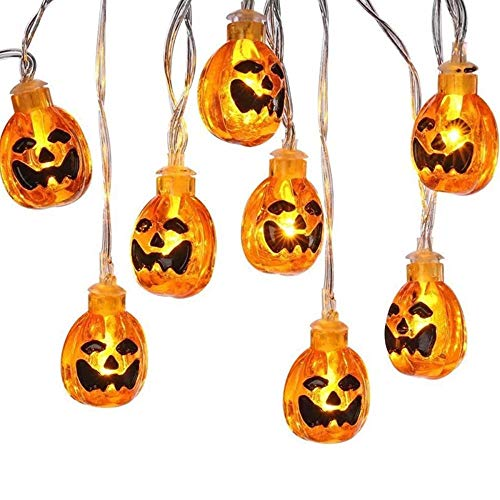 wscmd Halloween Pumpkin Lights, Pumpkin LED Lights Halloween Pumpkin Lights Orange 3D for Outdoor Garden, Yard, Patio, Christmas Tree, Party, Home Decoration