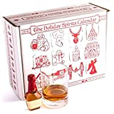 Advent Calendar for Alcohol & Adults | Gift Booze & Wine for Christmas 2020 | Great White Elephant & Holiday Party Hostess Present Idea | Alcohol Not Included (5, Spirits)