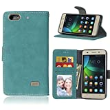 Ycloud Portefeuille Coque pour Huawei G Play Mini Smartphone, Mate Texture PU Cuir Flip Magnétique...