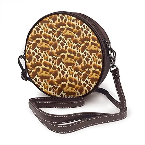 Bolso bandolera para mujer, bolso lateral para viajes, verano, verano, moda, círculo, carey