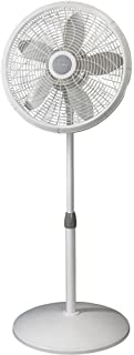 Lasko 1820 Elegance and Performance Pedestal Fan, 18