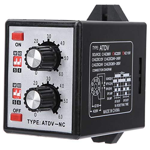 Ein-Aus-Timer-Schalter, einfach zu installierender Twin-Timer, allgemeine Verwendung für den Heimberuf Werkseitig verwenden