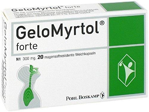 GeloMyrtol 20 Kapseln akute Bronchitis und chronische Entzündung von Paranasalnebenhöhlen, 300 mg