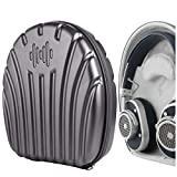 Geekria ProShell Headphone Case for Master & Dynamics M & D MW65, MW60, MW50+, MH40 Headphones, Replacement Protective Hard Shell Travel Carrying Bag with Cable Storage (Dark)